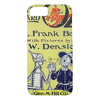 Coque iPhone 8/7 Couverture de livre vintage de magicien d'Oz