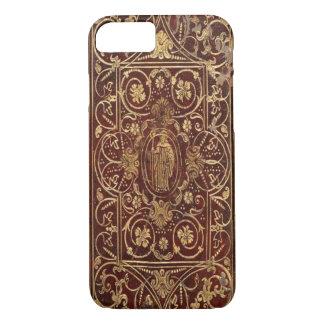 Coque iPhone 8/7 Couverture de téléphone - livre antique - saint