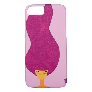 Coque iPhone 8/7 Couverture indépendante de téléphone de femmes