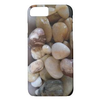 Coque iPhone 8/7 Couverture polie de téléphone de roches de rivière