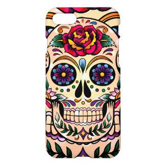 Coque iPhone 8/7 Crâne coloré mignon de sucre