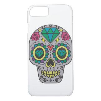 Coque iPhone 8/7 Crâne et diamants