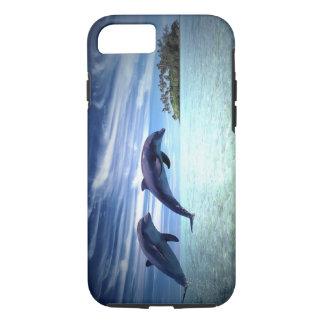 Coque iPhone 8/7 Dauphins sautants