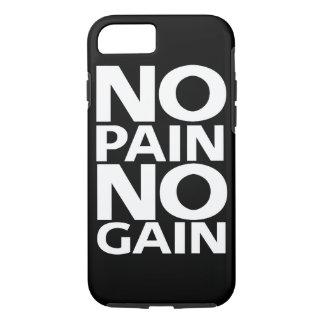 """Coque iPhone 8/7 De motivation """"aucune douleur CAS de l'iPhone 7"""