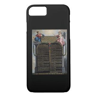 Coque iPhone 8/7 Déclaration des droites de l'homme et du citoyen