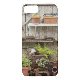 Coque iPhone 8/7 Décorations sur la barrière en bois, île de
