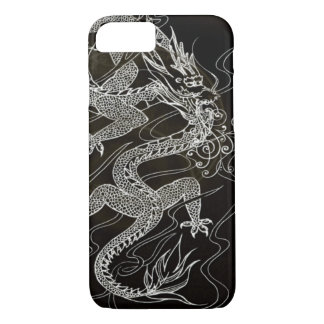 Coque iPhone 8/7 Dragon chinois foncé