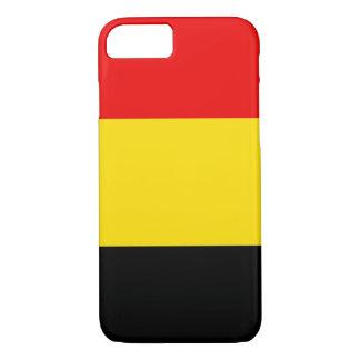 Coque iPhone 8/7 Drapeau de la Belgique