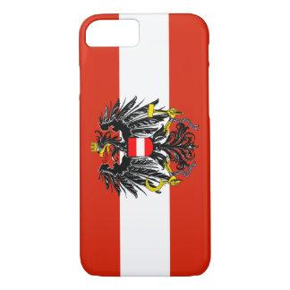 Coque iPhone 8/7 Drapeau de l'Autriche