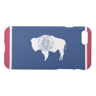 Coque iPhone 8/7 Drapeau d'état du Wyoming
