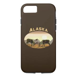 Coque iPhone 8/7 Duel de caribou - Alaska