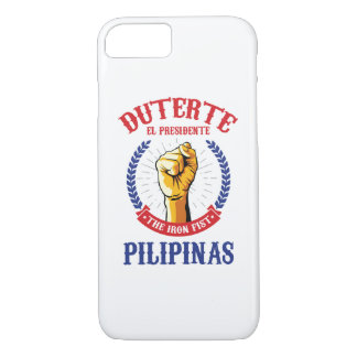 Coque iPhone 8/7 Duterte - cas de l'iPhone 7 d'EL Presidente