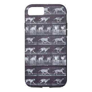 Coque iPhone 8/7 EADWEARD MUYBRIDGE : Crainte de chien - iPhone dur