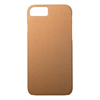 Coque iPhone 8/7 Effet métallique de cuivre d'aluminium