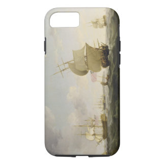 Coque iPhone 8/7 Embarquant dans la Manche, c.1755 (huile sur le Ca