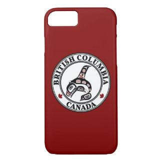 Coque iPhone 8/7 Épaulard du nord-ouest d'art de Haida de Côte