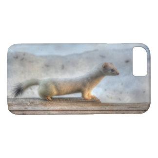 Coque iPhone 8/7 Ernie la faune déterminée de hermine (belette)