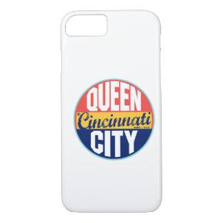 Coque iPhone 8/7 Étiquette vintage de Cincinnati