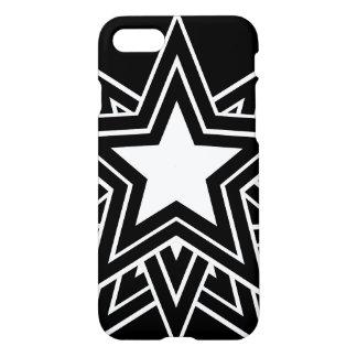 Coque iPhone 8/7 Étoile noire multiple