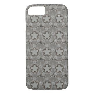 Coque iPhone 8/7 Étoiles décoratives étoilées élégantes de gris
