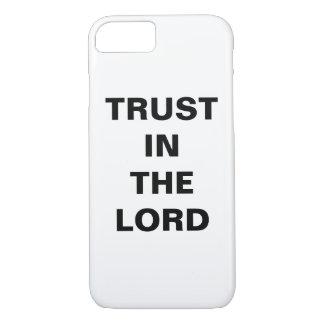 """Coque iPhone 8/7 """"Faites confiance dans l'iPhone de seigneur"""" Apple"""