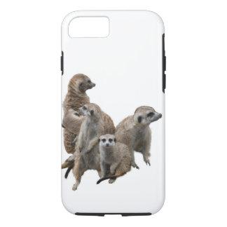 Coque iPhone 8/7 Famille de Meerkat
