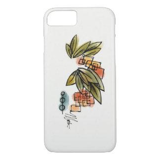 Coque iPhone 8/7 Feuille abstrait moderne - cas de téléphone