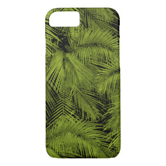 Coque iPhone 8/7 Feuille tropical vert hawaïen de paumes de Makana