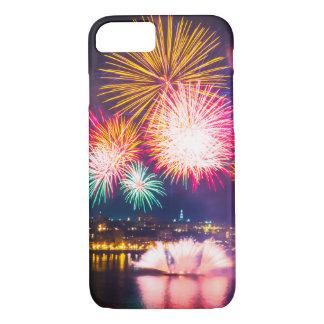 Coque iPhone 8/7 Feux d'artifice colorés