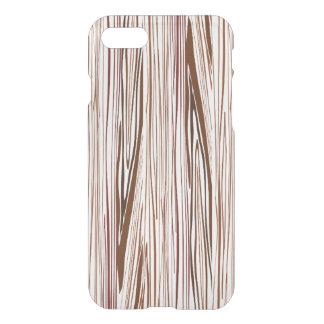 Coque iPhone 8/7 Fibre de bois Brown foncé