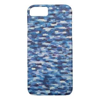 Coque iPhone 8/7 Foules de caisse bleue de téléphone