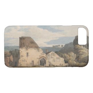 Coque iPhone 8/7 Francis Towne - abbaye de Dunkerswell