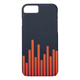 Coque iPhone 8/7 Fréquence de cas de l'iPhone 7 de musique