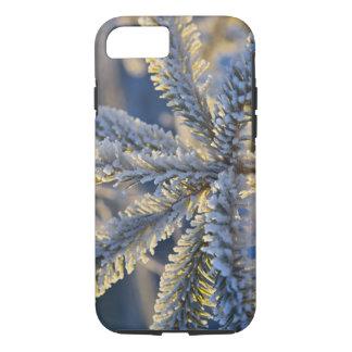 Coque iPhone 8/7 Frost sur l'arbre à feuillage persistant, Homer,