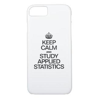 COQUE iPhone 8/7 GARDEZ LE CALME ET ÉTUDIEZ LES STATISTIQUES