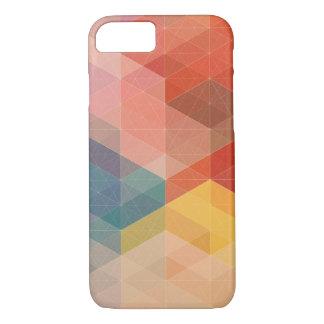 Coque iPhone 8/7 ™ géométrique de cas de l'iPhone 7 de couleur