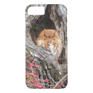 Coque iPhone 8/7 Gloire le hibou de cri strident
