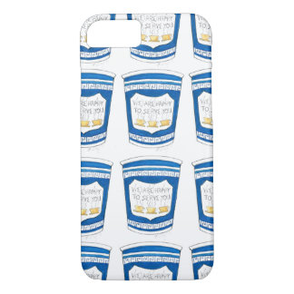 Coque iPhone 8/7 Heureux de vous servir NYC caisse grecque de
