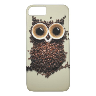 Coque iPhone 8/7 Hibou de caféine