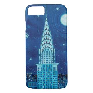 Coque iPhone 8/7 Hiver dans le cas de l'iPhone 7 de New York City