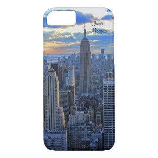 Coque iPhone 8/7 Horizon de la fin de l'après-midi NYC comme