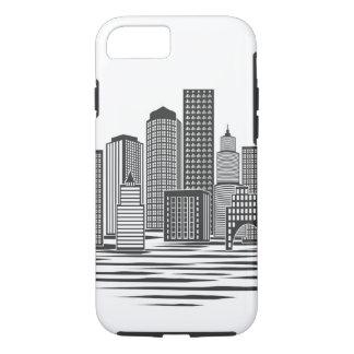 Coque iPhone 8/7 Horizon moderne de ville
