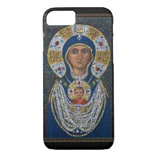 Coque iPhone 8/7 Icône de mosaïque d'île de Murano