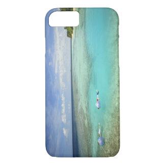 Coque iPhone 8/7 Île-hôtel de Bandos, atoll masculin du nord,