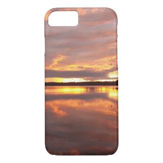 Coque iPhone 8/7 Image de ciel de coucher du soleil