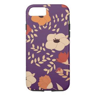 Coque iPhone 8/7 impression florale classique