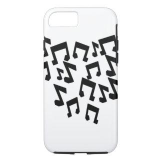Coque iPhone 8/7 iPhone 6/6s dur, notes de musique