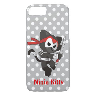 Coque iPhone 8/7 iPhone de Ninja Kitty 7/8 cas