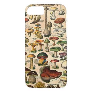Coque iPhone 8/7 iPhone vintage 7 de guide de champignon