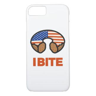 Coque iPhone 8/7 Je mords les Etats-Unis